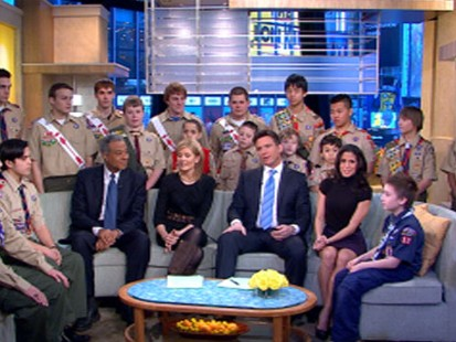 VIDEO: Boy Scouts Celebrate 100 Years