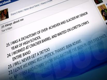 VIDEO: Facebooks 25 Things