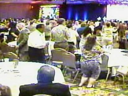VIDEO: Around 700 Social Security executives gather at four-star Phoenix resort.
