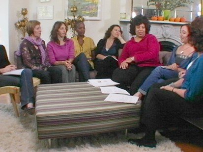 "VIDEO: Andrea Israel and Nancy Garfinkel talk about their book, ""The Recipe Club."""