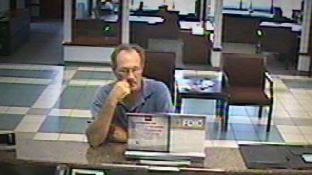 VIDEO: FBI reports that they have the serial bank robber in custody.