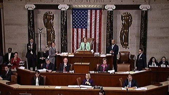 VIDEO: Historical Moment in on Capitol Hill