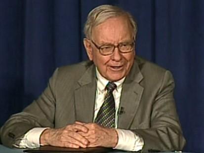 Billionaire investor Warren Buffet