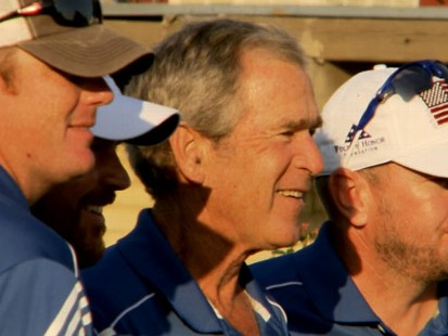 VIDEO: Former President George W. Bush talks about his passion project.