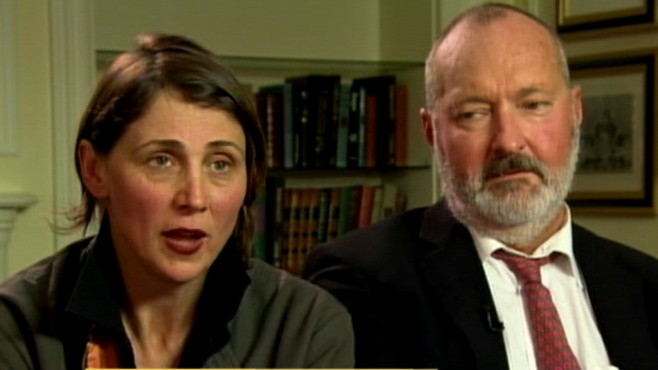 VIDEO: Some accuse the Randy and Evi Quaid of making light of their legal troubles.