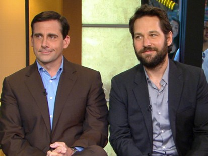 VIDEO: Steve Carell and Paul Rudd have reunited for a new comedy.