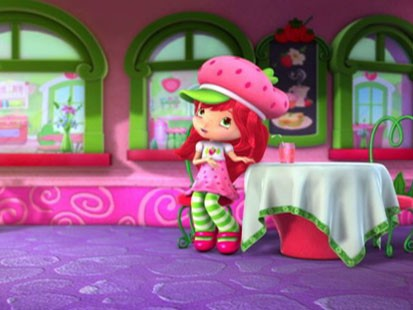 A picture of the new Strawberry Shortcake.