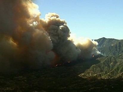 VIDEO: More than 2,300 firefighters are working to control the fires.
