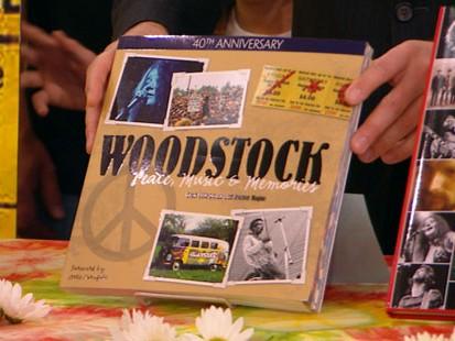 VIDEO: Woodstock coffee table books