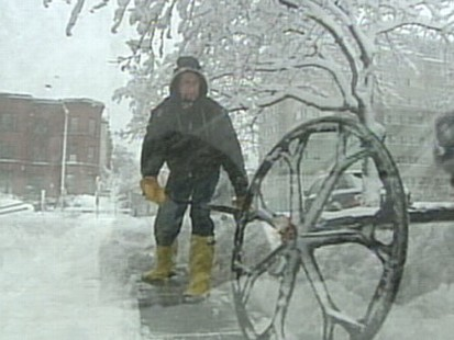 VIDEO: Winter Weather Hits, More Snow on the Way