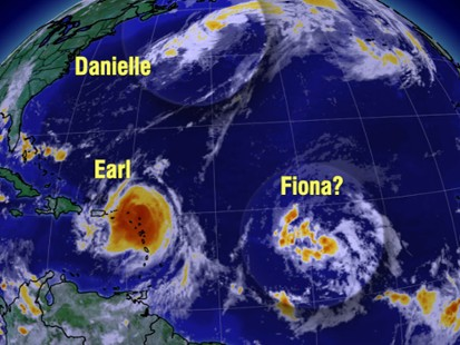 VIDEO: Hurricane Season in Full Force
