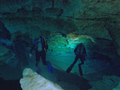 VIDEO: Cave Diving with Ron Claiborne