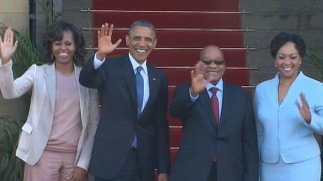 Obama Compares Nelson Mandela to George Washington