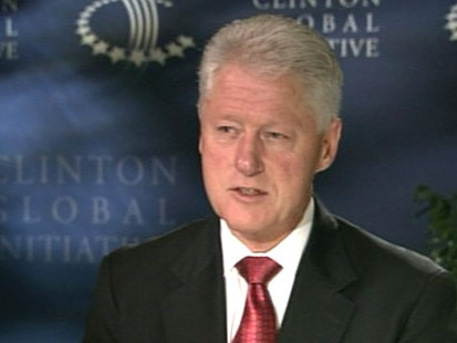 VIDEO: Bill Clinton weighs in on Afghanistan, health care reform and race.