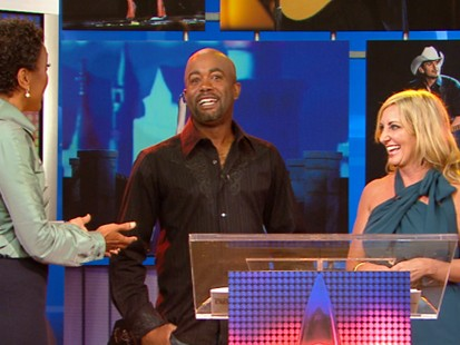 VIDEO: Lee Ann Womack and Darius Rucker announce the nominees for countrys top awards.