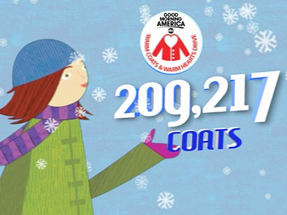 VIDEO: Another Successful Coat Drive