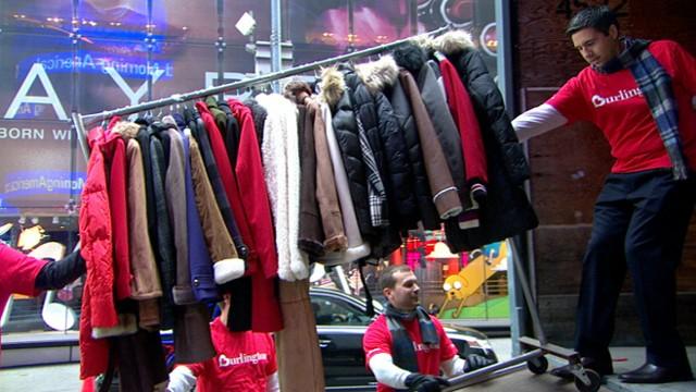 Gma Coat Drive Burlington Coat Drive S Big Gift Video Abc News