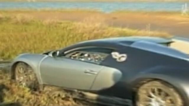 Did Driver Intentionally Crash $1M Bugatti Into Lagoon?