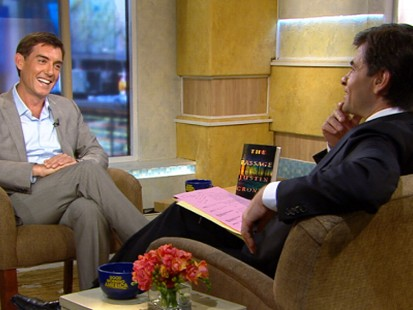 VIDEO: The writer talks about his new book in which a young girl saves the world.