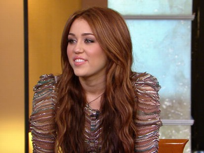 """VIDEO: Miley Cyrus talks about her new film, """"The Last Song."""""""