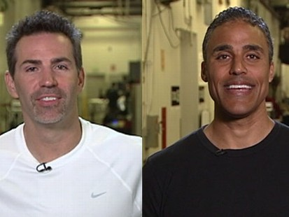 VIDEO: Kurt Warner and Rick Fox rehearse on Dancing With the Stars