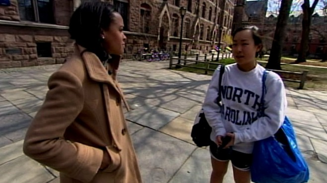 "VIDEO: Female students accuse the university of fostering a ""hostile"" environment."