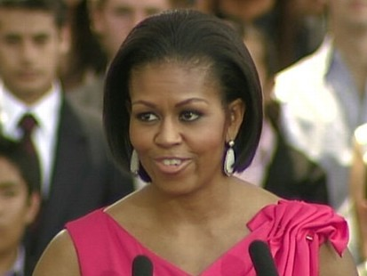VIDEO: First Lady wants to bring her girls to Mexico.
