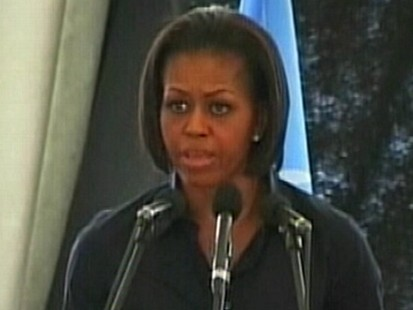VIDEO: First Lady?s First Trip