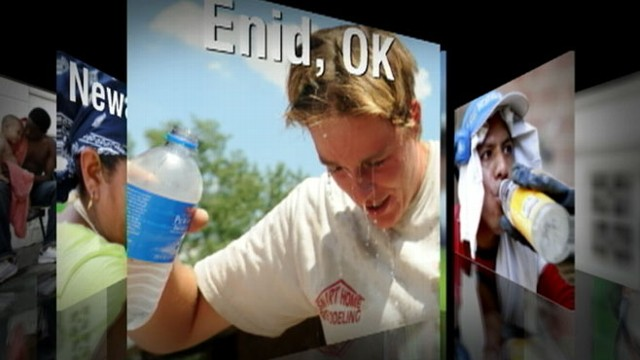 VIDEO: Heat alerts issued from Texas to Minnesota as temperatures hit triple digits.