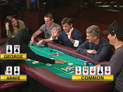 "VIDEO: The ""GMA"" anchor sat down with pro poker players to learn some skills."
