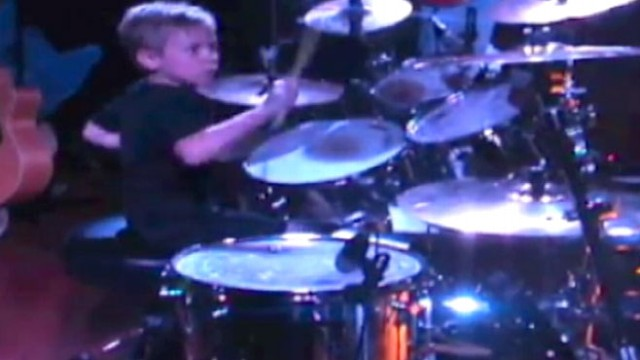 VIDEO: Six-Year-Old Drumming Prodigy