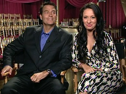 Ted McGinley and Inna Brayer