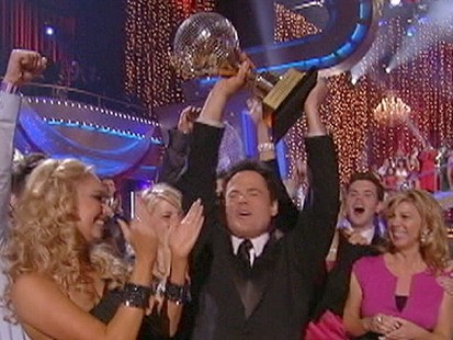 Dancing With the Stars Winner Donny Osmond, Mya and Kelly ...