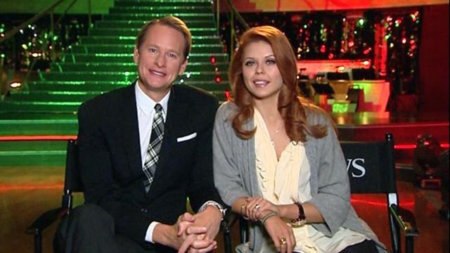 VIDEO: Kressley, partner Anna Trebunskaya discuss performing on ABCs hit dance show.