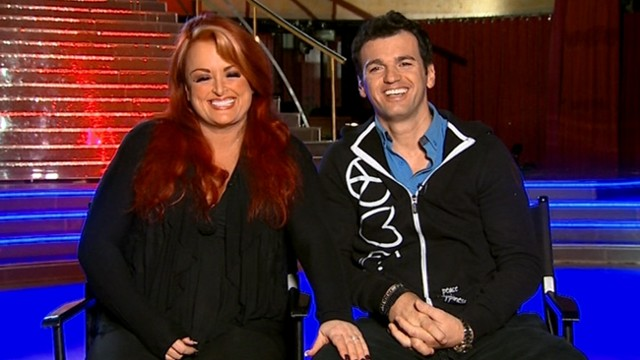 """VIDEO: Wynonna Judd and Tony Dovolani discuss their third-week elimination from """"Dancing With the Stars."""""""