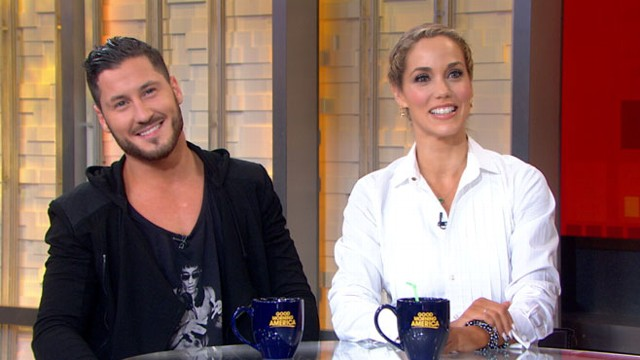 VIDEO: The actress and her partner, Val Chmerkovskiy, talk about their time on the show.