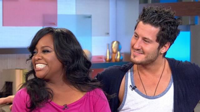 """VIDEO: """"The View"""" co-host joins """"GMA"""" with dance partner Val Chmerkovskiy."""