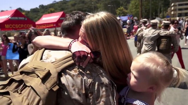VIDEO: An inside look at the life of U.S. troops overseas and what it is like for them to return home.
