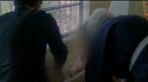PHOTO: This image shows an exorcism.