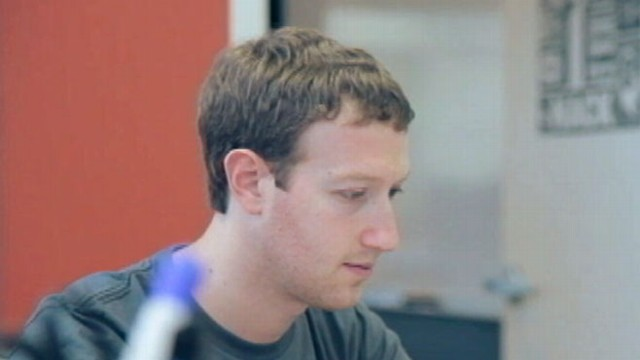 VIDEO: The 28-year-old CEO is being blamed for the collapse of stock in his social networking site.