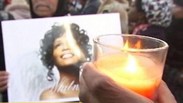 VIDEO: Family will say their last goodbyes to the singer at a service in New Jersey.