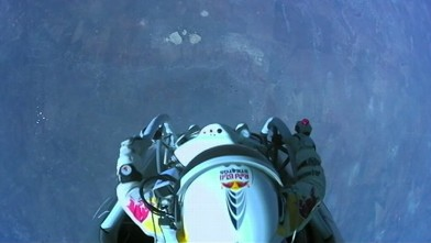 Did a man skydive from space
