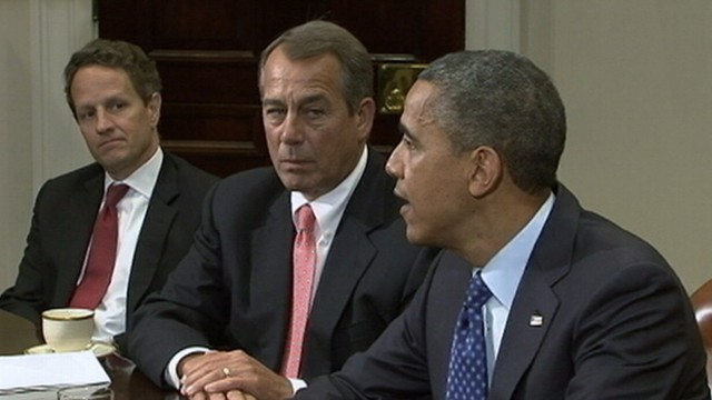 VIDEO: The White House and Congress are still unable to reach a deal with only 29 days left.
