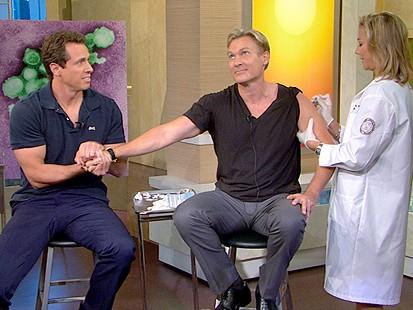 VIDEO: GMA Anchors Get Their Shots