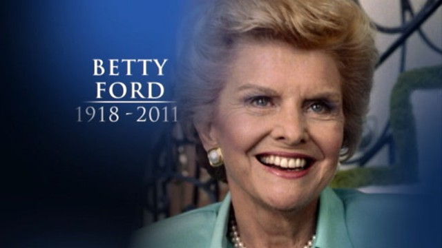 VIDEO: Former first lady, known for her work in curing addiction, dies at 93.