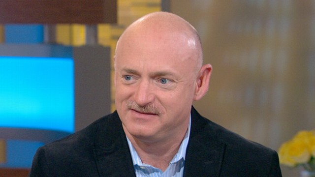 VIDEO: Mark Kelly Discusses Gabby Giffords Next Steps