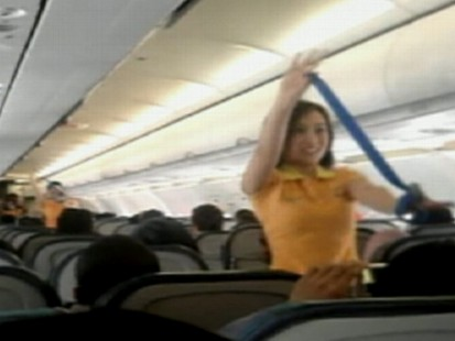 VIDEO: Flight Attendants Dance to Lady Gaga