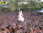 VIDEO: Lady Gagas surprising entrance kicks off GMA Summer Concert Series.