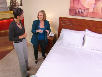 VIDEO: Get tips on how you can keep clean and stay comfortable at your next hotel.
