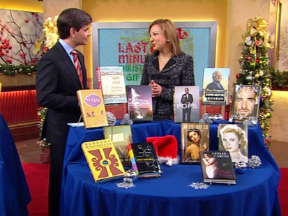 VIDEO: Parade magazines Janice Kaplan suggests some top book to give this holiday.